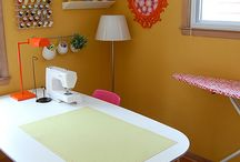 Sewing room / by Laurie Lauricella