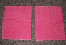 Hoodie towels