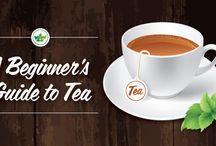 Teas, Milks & Coffees