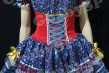 vestido de festa Julhina