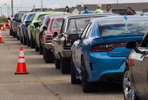 All lined up and ready to roll for #RoadKillNights. - photo from dodgeofficial