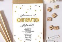 Konfirmation/Confirmation