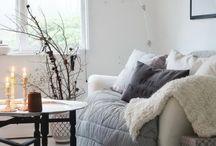 HOUSE / styl skandynawski, białe dodatki, drewno