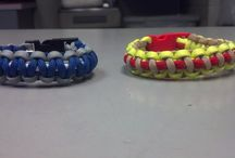 Survival Bracelets / Constructed with 550 Paracord. Made by Me ( Rich Martinez )
