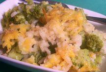Healthy side dishes / by Kellie Hebert Knaffle