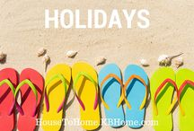 Home for the Holidays / Home decorating and activity ideas for every holiday!