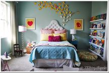 Girls Bedroom Inspiration / Inspiring room ideas for the little lady in my life :)