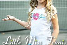 Little Miss Tennis - tennis and activewear for kids / Girls & boys tennis clothes ages 3 - 12. Cute classic tennis dresses, skirts, tops; Joe Puppy boys styles! In business for over 40 years, we have a dress in the Intl Tennis Hall of Fame!