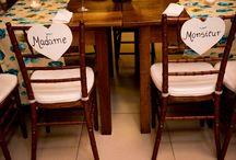 Quadros e Plaquinhas para Casamento