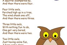 Preschool Owl Theme