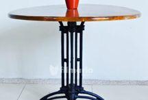Meja Cast Iron / Meja cast iron (besi cor) berdesain apik dan kualitas premium