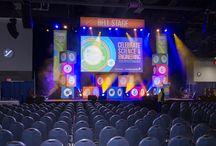 USA Science and Engineering Festival / EVENTEQ provided audio, video, lighting and staging for 6 stages, over 40 meeting rooms and was the exclusive AV vendor for over 2500 exhibitors.