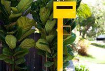 Garden - Letterboxes