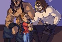 the Shield cartoons :3
