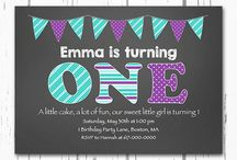 Ema's first birthday