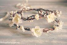 Wedding accessories / floral crowns