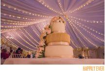 Wedding Cakes / Stunning wedding cakes from the Happily Ever Captured weddings. www.happilyevercaptured.com