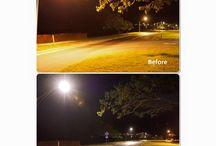 Lights! / Lighting up Hawaiian skies.