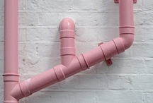 Outdoor pipes