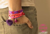 Freundschaftsbänder / Friendship bracelets