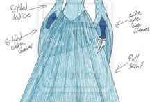 drawing fantasy clothing