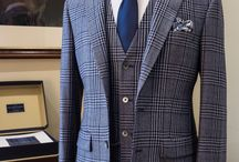 Check Wedding Suits