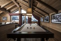 Luxury Chalets with Pool/Snooker Table / Pool/Snooker table in your luxury chalet