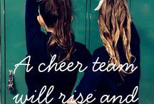 Words Of A Cheerlearder