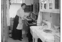 early kitchens, 1880-1930