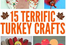 Thanksgiving Kids Crafts / Crafts for thanksgiving, thanksgiving activities, and all other fun ideas to make thanksgiving fun for kids.