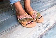 Collection S/S2018 | PinkyPromiseAccs / Handmade Greek Leather Sandals, beach sandals, women shoes, colorful sandals, bohemian sandals, hippie sandals, ethnic leather sandals, gladiator sandals, boho sandals, wholesale sandals, African sandals, pom pom sandals strappy sandals, sandales, sandalias, festival sandals