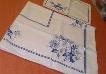 Cibulak / Folklore blue patterns