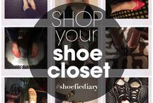 #ShoefieDiary - What shoes are you wearing today? / #ShoefieDiary Challenge Starts Today!!!! Are you ready to shop your shoe closet with me?   Let's start the #shoe diary challenge and see how more varied your outfits can be when you make the effort to wear a different pair of shoes every day!  All you need to do is snap a photo of your daily shoe and use the hashtag #shoefiediary   Read more about the #shoechallenge here: www.focusonstyle.com/shoefiediary   / by Sharon Haver - FocusOnStyle.com