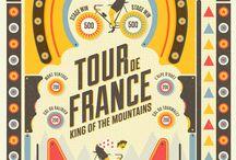 Tour de France decor