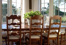 Mom's Likes / new dining room, living room, and foyer / by Michelle Hamann