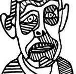 Coloring - Jean Dubuffet