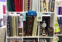 SALE / Halloween and Christmas Fabric Sale!