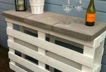 terasz föző asztal