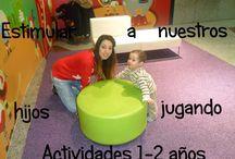 actividades 1-2 años