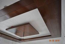 Wooden fall Celling drawings