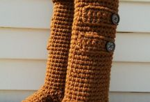 Crochet: socks and slippers