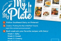 #MakeMyPlate Pin to Win!  / by Southeast Dairy