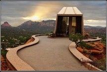 To Do: Chapel of the Holy Cross / Excellent view from beautifully designed Catholic Chapel nested in the red rocks built in 1956.