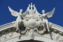 Angels & Demons & nice statues