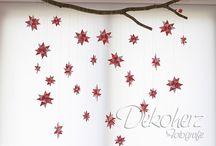 fröbelstern deko