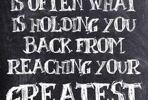 Fear-Don't let it stop you!