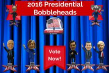 Presidential / 2016 Presidential Candidate Bobbleheads from our Kickstarter Campaign: http://bit.ly/2016bobbles