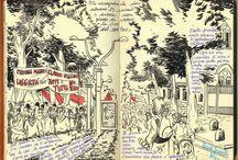 #LauraSpianelli, diari #NoTav / #Disegni realizzati sui diari di viaggio durante le #manifestazioni, i raduni ed i campeggi #NoTav, in #ValdiSusa ma non solo!! :)