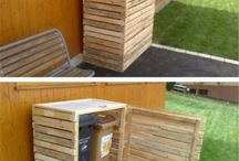 Recycling storage