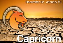 Capricorn / December 22- January 19 All you need to know about the Capricorn star sign. Read your free daily Capricorn horoscope on the Psychics LIVE TV app. Just visit www.psychicslivetv.com to find out more #Capricorn #Horoscopes